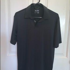 Men's adidas Black Golf Shirt, size Small